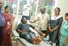 Blood Donors' Celebrated