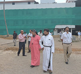 Foundation Stone Laid for New Block