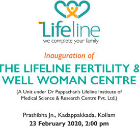 The Lifeline Fertility & Well Woman Centre to be Inaugurated Soon!